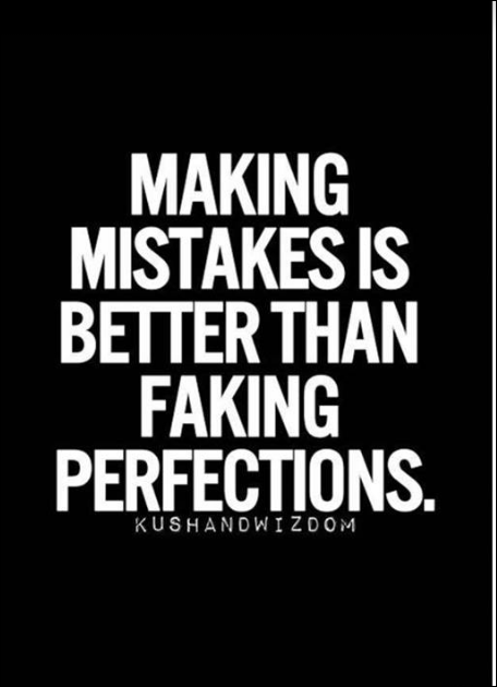 faking perfection 2015